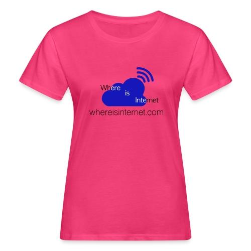Where is the Internet - Women's Organic T-Shirt