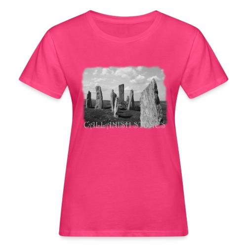 CALLANISH STONES #1 - Frauen Bio-T-Shirt