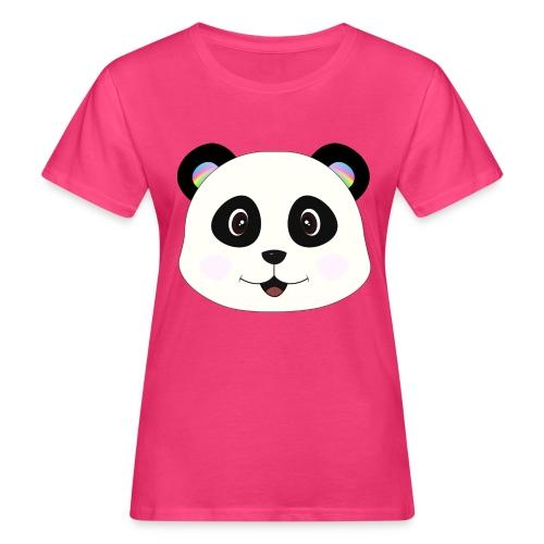 panda rainbow - Camiseta ecológica mujer