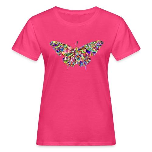 Geflogener Schmetterling - Frauen Bio-T-Shirt