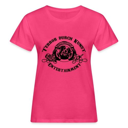tdklogoschwarz 3 - Frauen Bio-T-Shirt