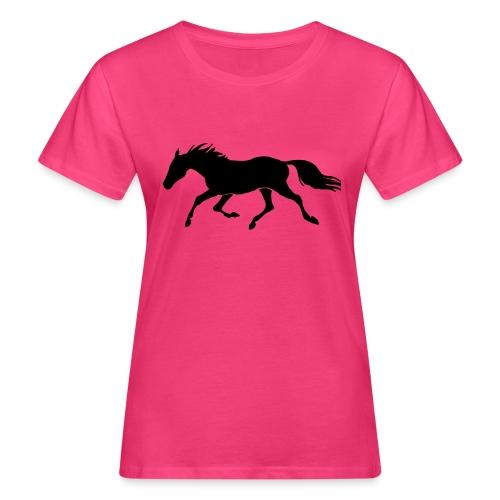 Cavallo - T-shirt ecologica da donna