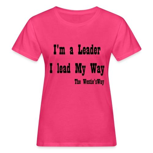 I lead My Way Black - Ekologiczna koszulka damska