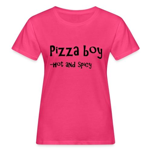 Pizza boy - Økologisk T-skjorte for kvinner
