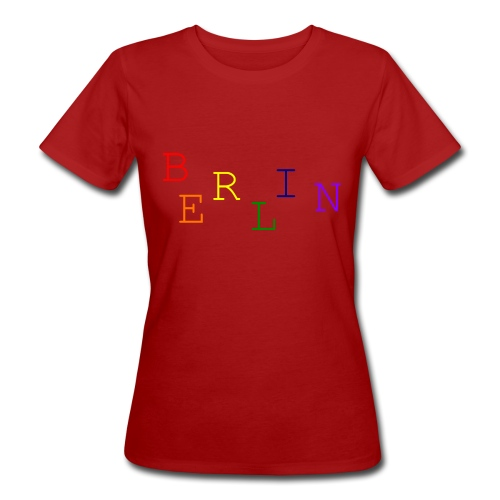 Berlin Rainbow #1 - Frauen Bio-T-Shirt