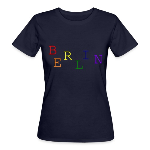 Berlin Rainbow #1 - Frauen Bio-T-Shirt