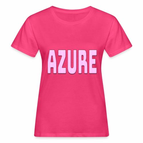 AZURE - T-shirt bio Femme