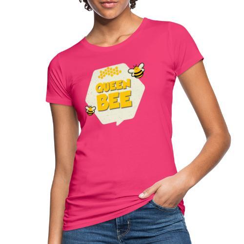 Queen Bee Mutter und Kind Bienen Partnerlook - Frauen Bio-T-Shirt