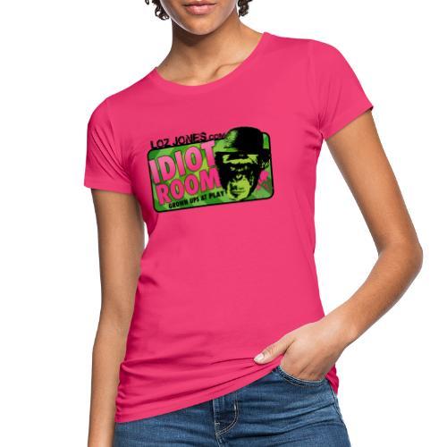 'Idiot Room' Chimp design - Women's Organic T-Shirt