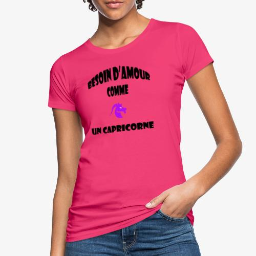 capricorne - T-shirt bio Femme