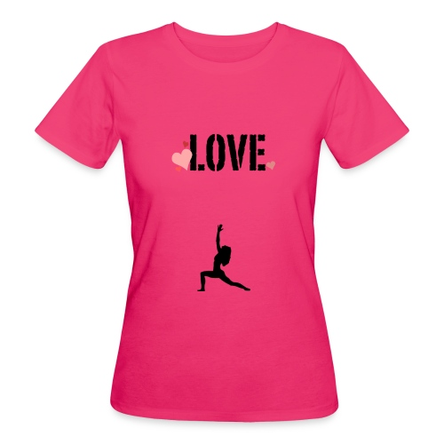j'aime le yoga . - T-shirt bio Femme