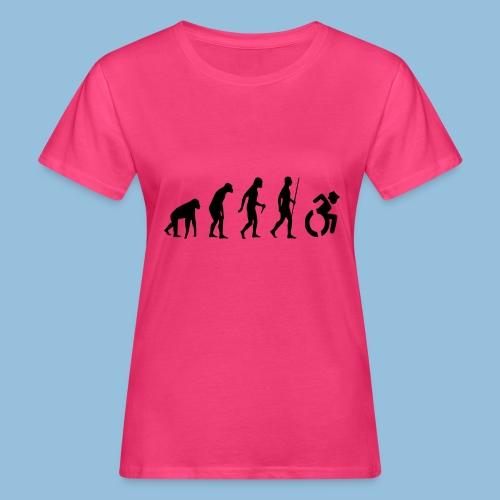 EvolutionWheelchair2 - Vrouwen Bio-T-shirt
