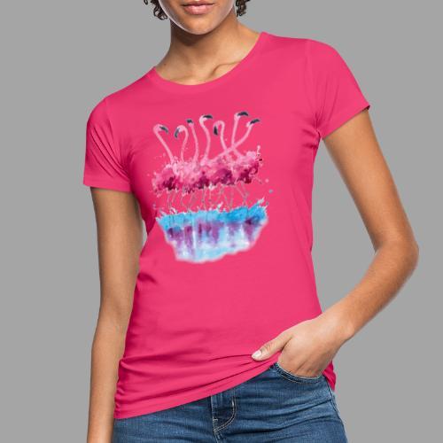 Flamingo - T-shirt ecologica da donna