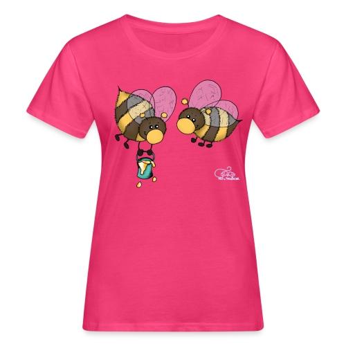 Hummelchen und Pummelchen - Frauen Bio-T-Shirt