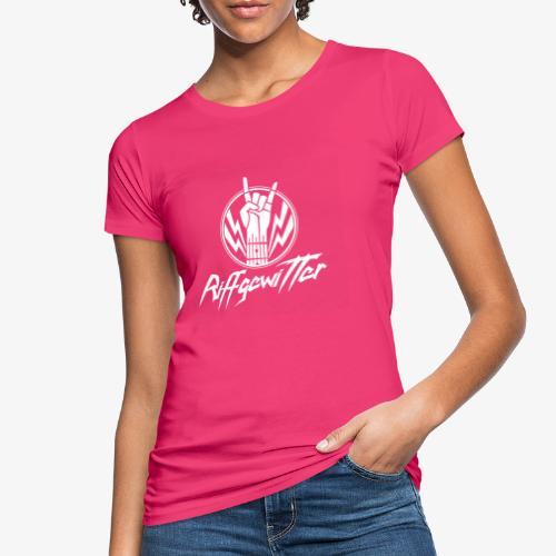 Riffgewitter - Hard Rock und Heavy Metal - Frauen Bio-T-Shirt