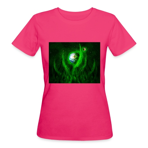 Cthulhu Rising - Frauen Bio-T-Shirt