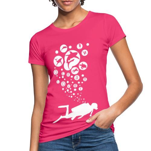 The Scuba Diver - Le plongeur - T-shirt bio Femme