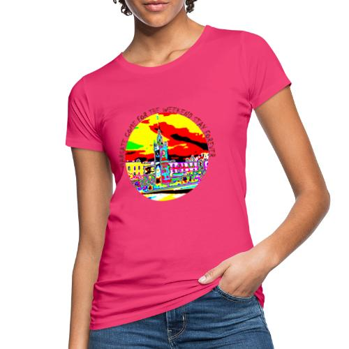 Come for the weekend! - Women's Organic T-Shirt