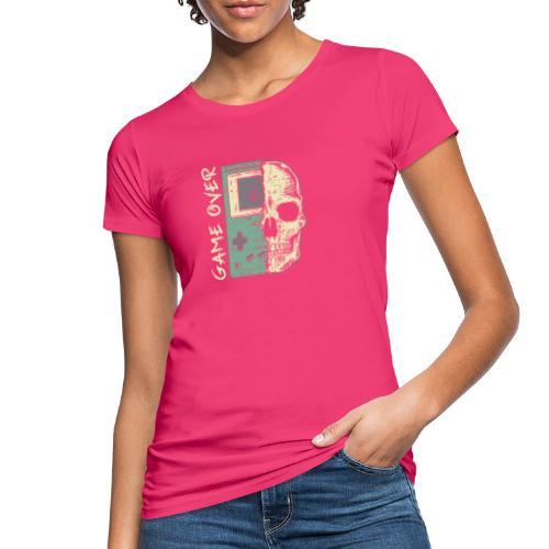 Game over Gaming Spruch Outfit für Zocker Gamer - Frauen Bio-T-Shirt