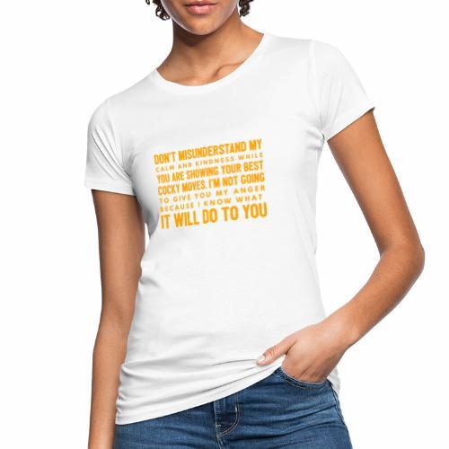 confidence - Organic damer