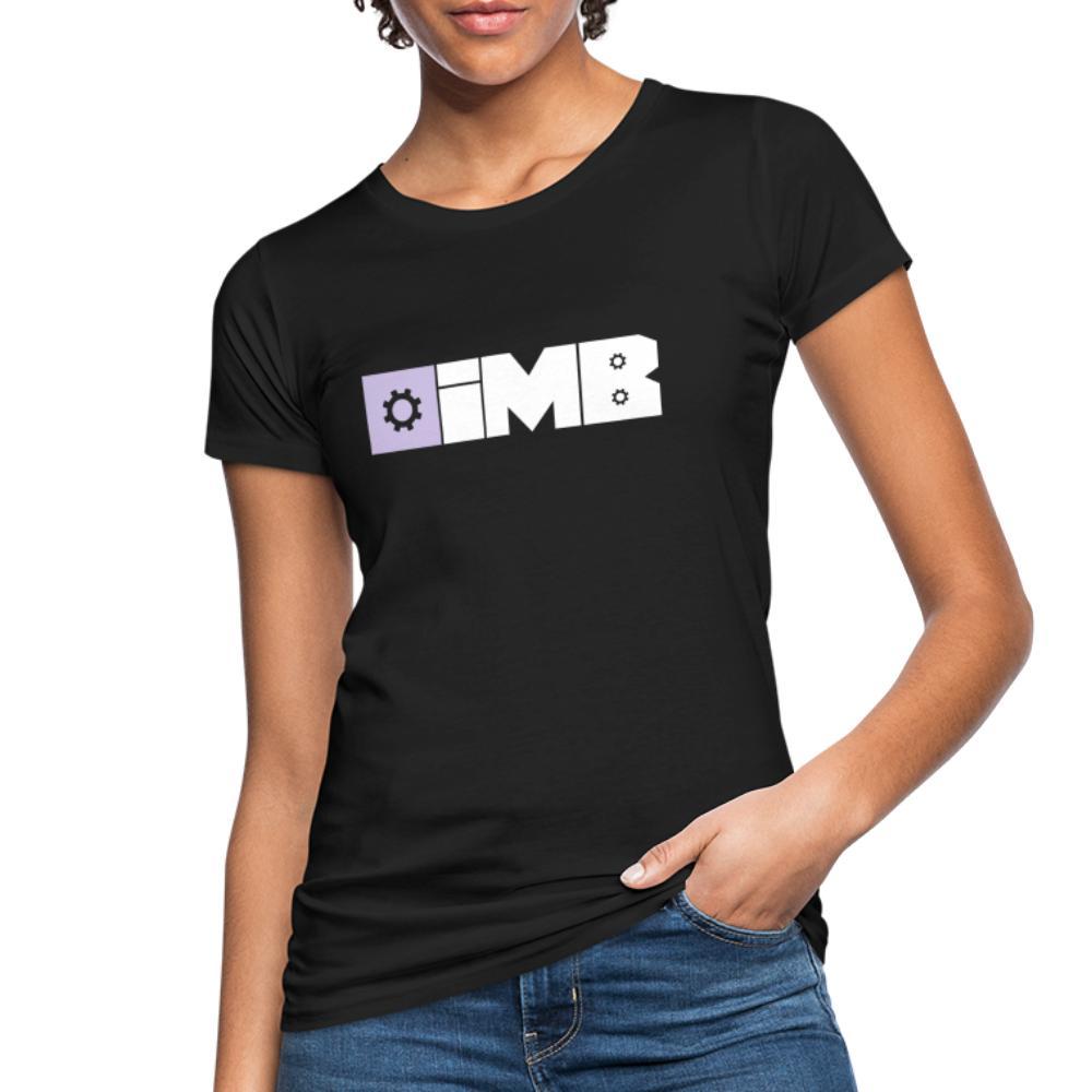 IMB Logo (plain) - Women's Organic T-Shirt - black