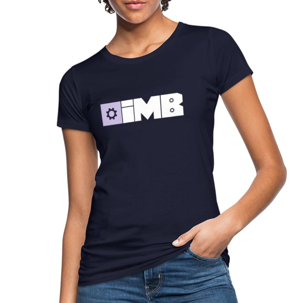 IMB Logo (plain) - Women's Organic T-Shirt - navy