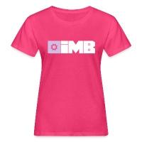 IMB Logo (plain) - Women's Organic T-Shirt - dark red