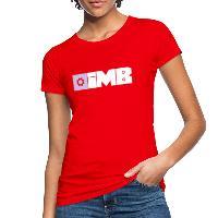 IMB Logo (plain) - Women's Organic T-Shirt red