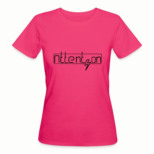 attention - Vrouwen Bio-T-shirt