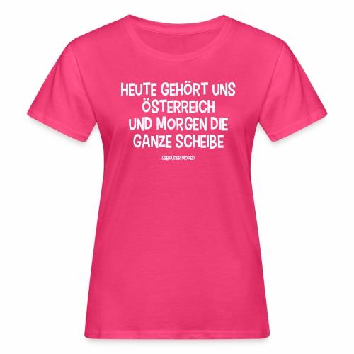 Scheibe Österreich - Frauen Bio-T-Shirt