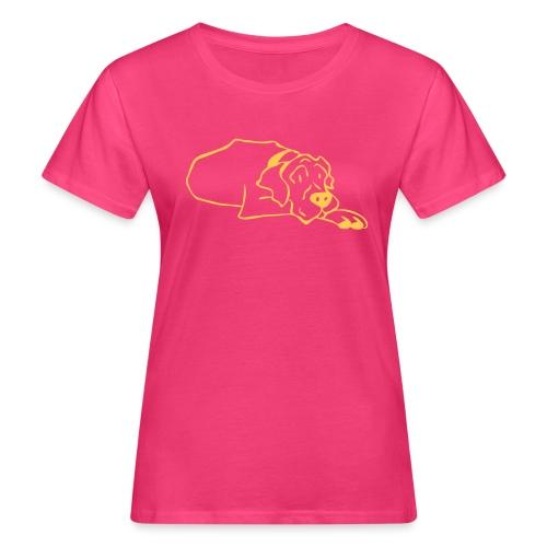 tyson ligger - Økologisk T-skjorte for kvinner
