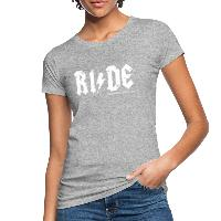 RIDE - Women's Organic T-Shirt - heather grey
