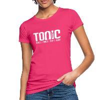Tonic Logo - Women's Organic T-Shirt - neon pink