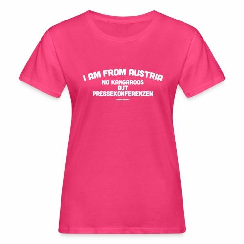Pressekonferenzen - Frauen Bio-T-Shirt