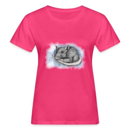 Rottapiirros - Värikuva - Naisten luonnonmukainen t-paita