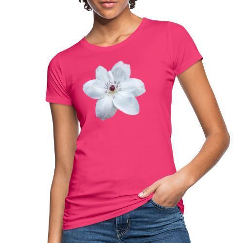 Jalokärhö, valkoinen - Naisten luonnonmukainen t-paita