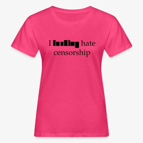 Censorship - Økologisk T-skjorte for kvinner
