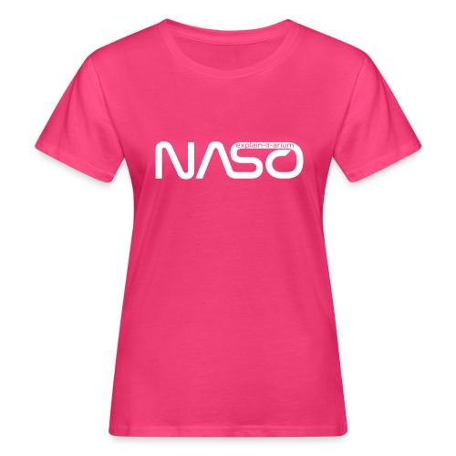 Naso-NASA1 - weiß - Frauen Bio-T-Shirt