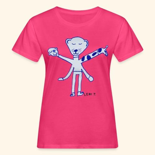 LeniT Teddy With a Twist - Naisten luonnonmukainen t-paita