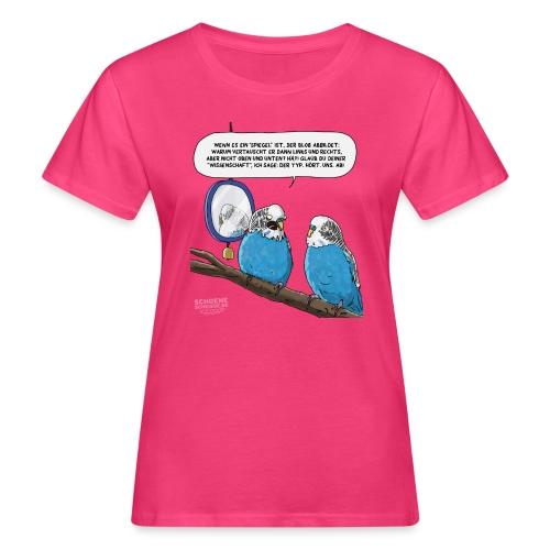 Quantensittich - Frauen Bio-T-Shirt