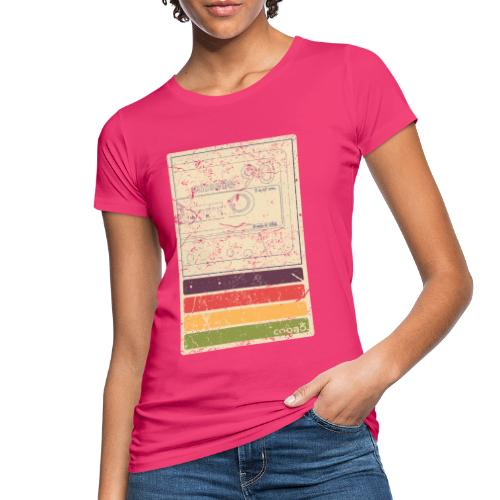 Retro Kassette - Frauen Bio-T-Shirt