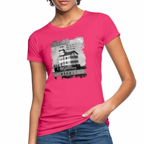 Märket majakkatuotteet, Finland Lighthouse, Harmaa - Naisten luonnonmukainen t-paita