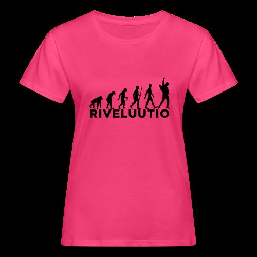 Riveluutio - Naisten luonnonmukainen t-paita