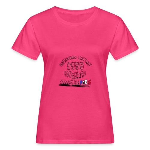 Les anciennes courses automobile - T-shirt bio Femme