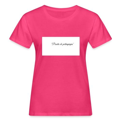Happy - T-shirt bio Femme