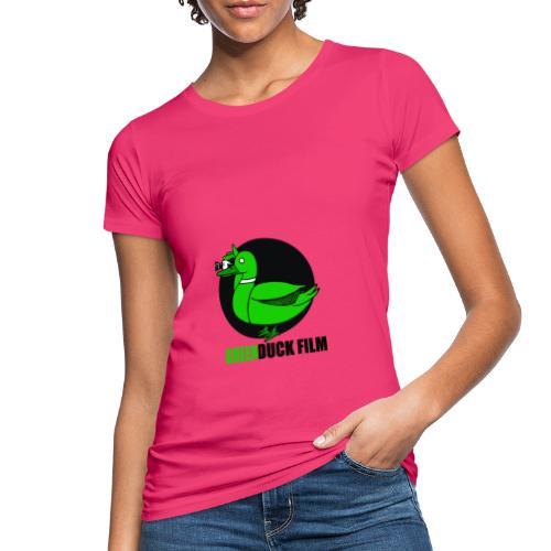 Greenduck Film Logo w. black letters - Organic damer