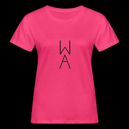 Minimal/Analog logo - T-shirt ecologica da donna
