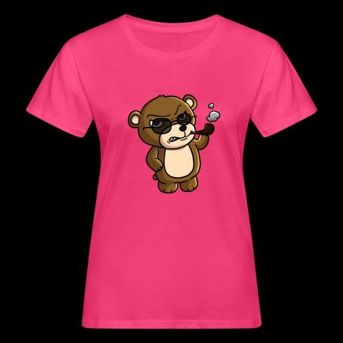 AngryTeddy - Women's Organic T-Shirt