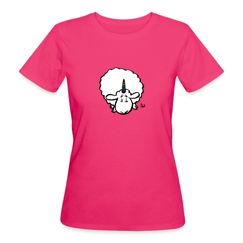 Ewenicorn - es ist ein Regenbogen-Einhornschaf! - Frauen Bio-T-Shirt