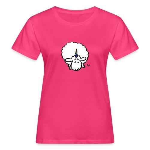 Ewenicorn: ¡es una oveja unicornio arcoiris! - Camiseta ecológica mujer